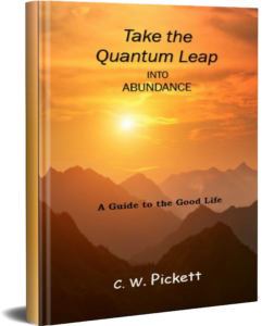 take the quantum leap into abundance. a guide to the good life.