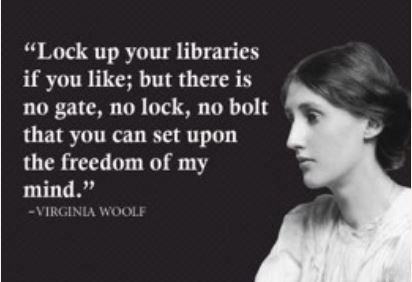 lock up your libraries if you like