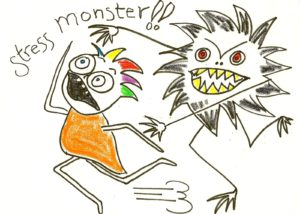 stress monster
